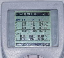 METREL MI 2392 portable 3-phase power quality analyser