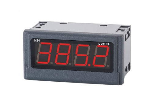 LUMEL N24-S Digital Indicator 4-digits red display, DC V, mA input