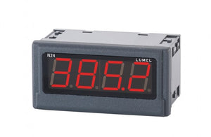 LUMEL N24-T Digital Indicator 4-digits red display, temperature inputs