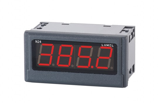LUMEL N24-H Digital Indicator 4-digits, up to 600 VDC, 6 ADC