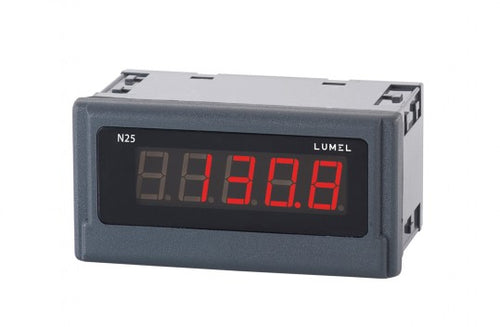LUMEL N25-H Digital Indicator 5-digits display, up to 600 VDC, 6 ADC