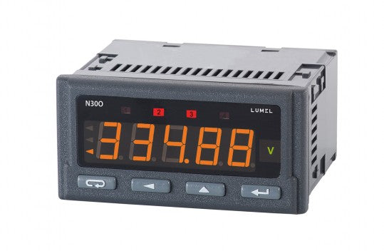 LUMEL N30O Programmable panel meter pulses, freq, rotational