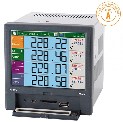 LUMEL Power network analyzer / recorder ND45