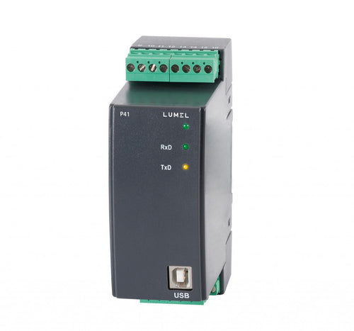 LUMEL P41 Single Phase Transducer of Power Network Parameters