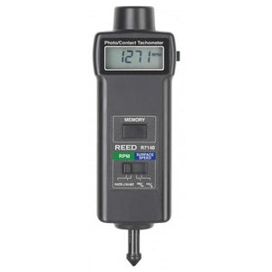 REED R7150 Professional Combination Contact / Laser Photo Tachometer with ISO certificate