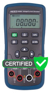 REED R5800 Voltage/Current Simulator - with ISO Certificate