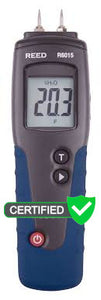 REED R6015 Wood Moisture Meter - with ISO Certificate