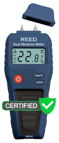 R6018 Dual Moisture Meter with ISO certificate