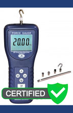 REED SD-6020 Data Logging Force Gauge, 44 lbs (20 kg) with ISO certificate