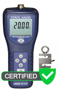REED SD-6100 Data Logging Force Gauge, 220 lbs (100 kg) with ISO certificate