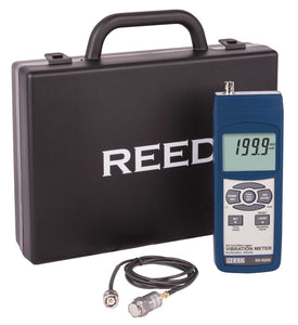 REED SD-8205 Data Logging Vibration Meter - with ISO certificate