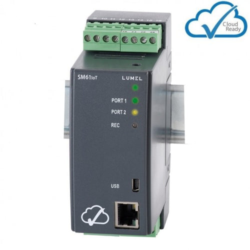 LUMEL SM61IoT Data Logger with cloud server