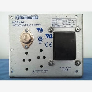 International Power - IHC12-3.4 - Open Frame Power Supply