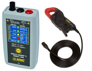 AEMC L562 Simple Logger II with AC Current Probe: 24A/240A