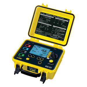 AEMC 6472 Digital Multifunctional Ground Resistance Tester with DataView Software, 2, 3, & 4-Point
