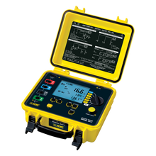 AEMC 6471 Kit-300ft Ground Resistance Tester Kit with USB, 2-Clamp, 4-Point, 300ft