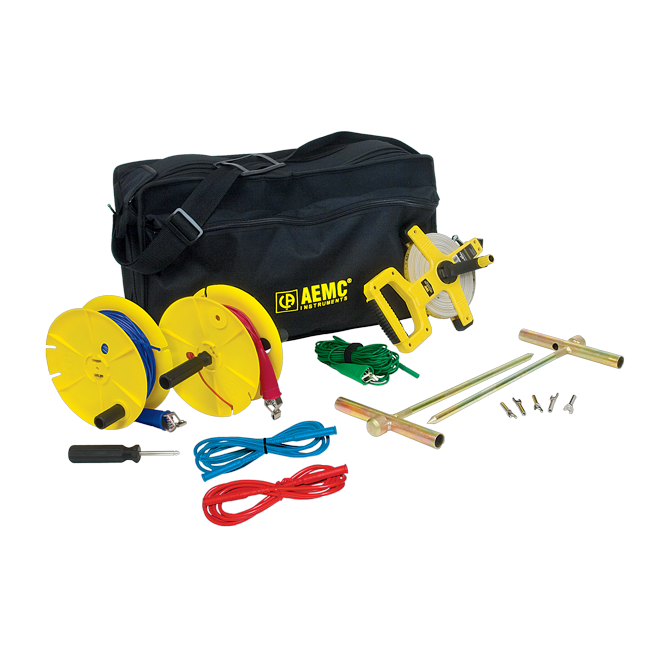 AEMC Ground Test Kit for 3-Point Testing, 150 ft