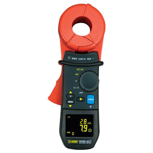 AEMC 6417 Clamp-On Ground Resistance Tester with Bluetooth, 1500Ω