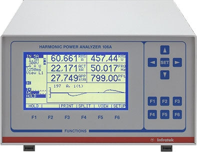 INFRATEK 106A Power Analyzer - Single Phase, 0.1% accuracy