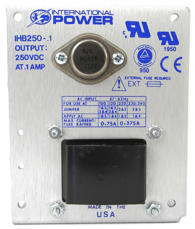 International Power - IHB250-0.1 - Open Frame Power Supply