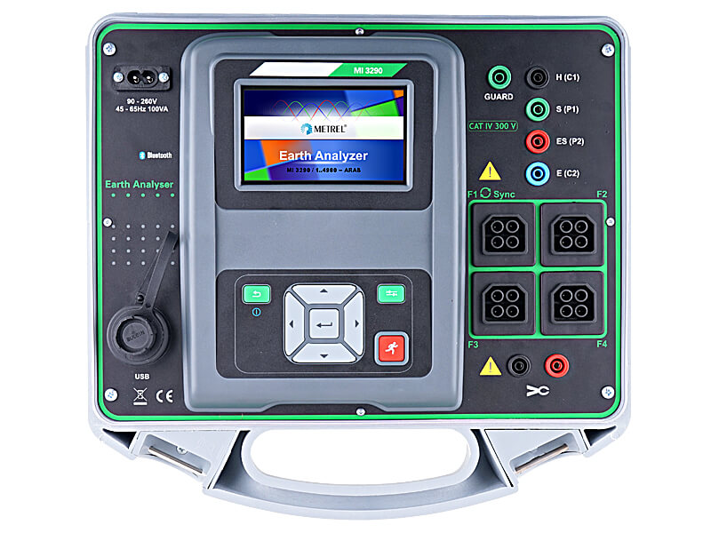 METREL MI 3290 Earth Analyzer - GX1 set