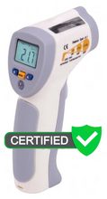 REED FS-200 Food Service Infrared Thermometer, 8:1, 392°F (200°C) with ISO Certificate