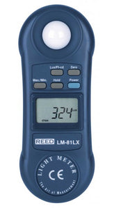 REED LM-81LX Compact Light Meter with ISO Certificate