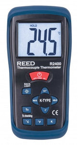 REED R2400 Type K Thermocouple Thermometer