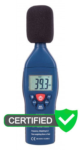 REED R8050 Dual Range Sound Level Meter with ISO Certificate