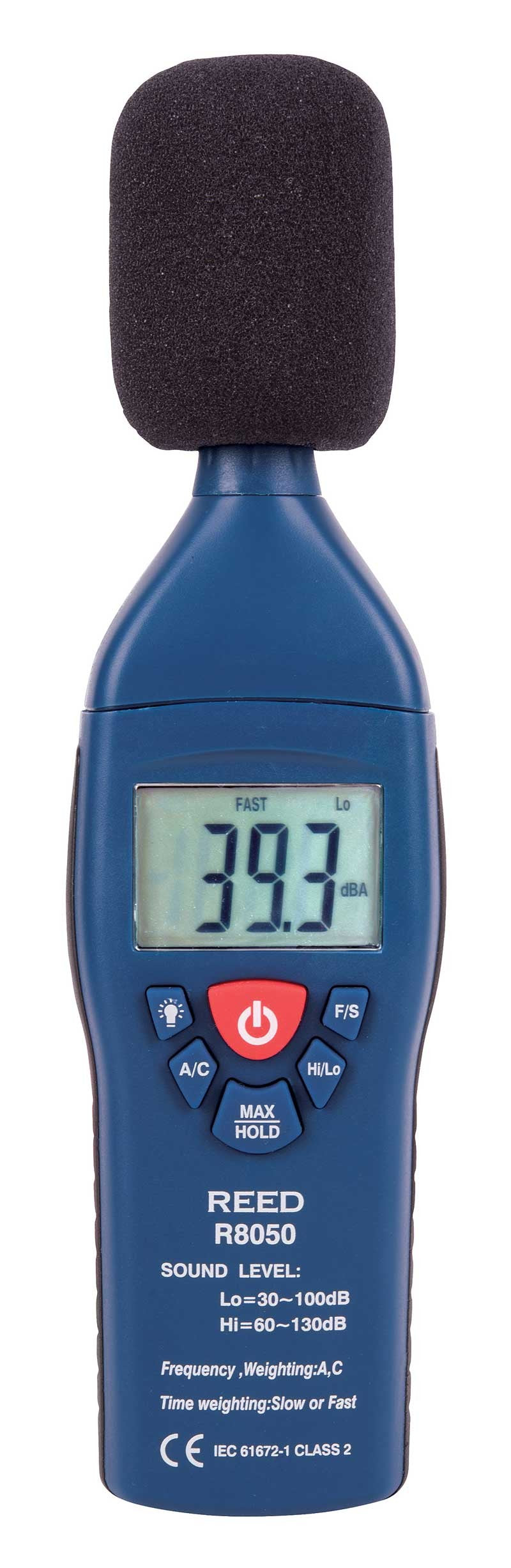 REED R8050 Dual Range Sound Level Meter