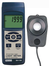 REED SD-1128 Data Logging Light Meter