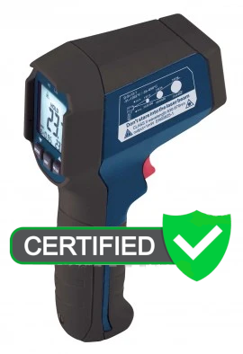 REED R2310 Infrared Thermometer, 12:1, 1202°F (650°C) with Certificate
