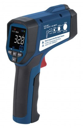 REED R2320 Infrared Thermometer, 30:1, 1472°F (800°C)