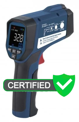 REED R2330 Infrared Thermometer 50:1, 2282°F (1250°C) with ISO Certificate