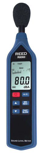 REED R8060 Sound Level Meter with Bargraph