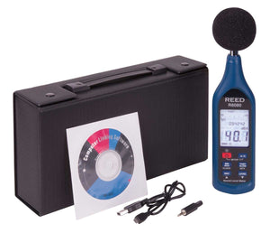 REED R8080 Data Logging Sound Level Meter with Bargraph with ISO Certificate