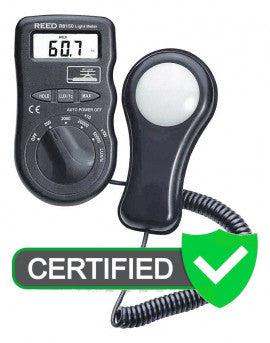 REED R8150 Pocket Light Meter with ISO Certificate
