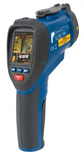 REED R2020 Video Infrared Thermometer, 50:1, 3992°F (2200°C)