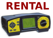Rental - Metrel MI 2092  Three Phase Energy & Harmonic Analyzer / Data Logger