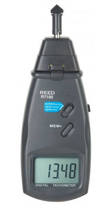 REED R7100 Combination Contact / Laser Photo Tachometer with ISO certificate