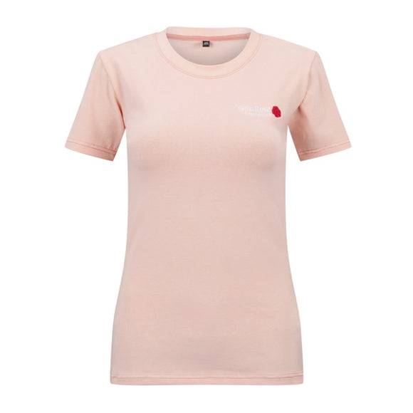 Bella Rose T-Shirt Dusky Pink
