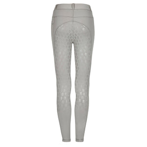 Bella Rose Cream Full Seat Competition Riding Leggings