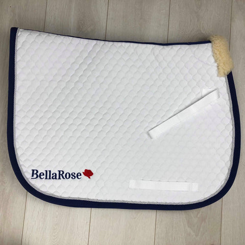 Bella Rose Logo Saddle Cloth
