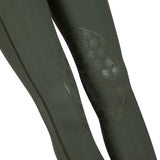 Bella Rose Khaki Knee Grip Riding Leggings