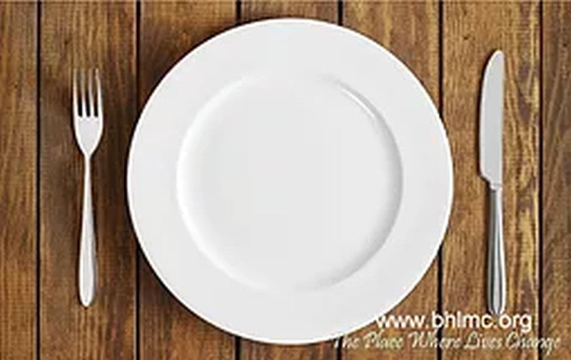 diet empty plate black hills