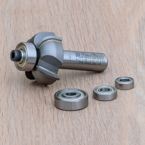 4 Flute Cove Router Cutter R12.7mm