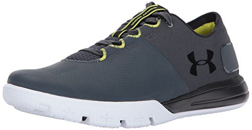 Under Armour Men's Charged Ultimate 2.0, Stealth Gray/Black/Black, 9.5 D(M) US