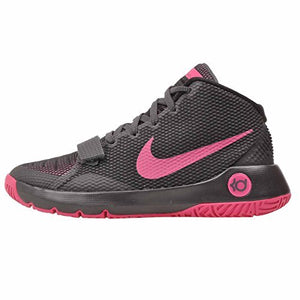 Nike KD TREY 5 III (GS) boys basketball-shoes 768870-005_5.5Y - ANTHRACITE/BLACK/VIVID PINK