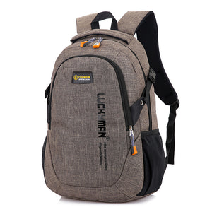 Backpack canvas Travel bag Backpacks fashion men and women Designer student bag laptop bags High capacity backpack 2017 New