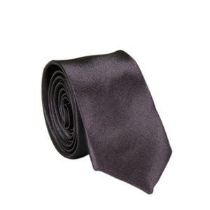 2017 Polyester Skinny Necktie Ties For Men Wedding Suit Slim Necktie Classic Solid Color Tie Casual Candy Color Length 71cm Tie